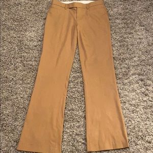 Gap Modern Boot Camel Dress Pants
